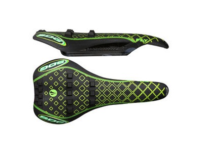 SDG I-Fly Storm All Extreme I-Beam Saddle Black/Green