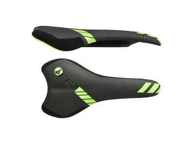 SDG I-Fly 2.0 I-Beam Saddle Black/Neon Green