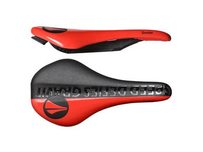 SDG Duster I-Beam Saddle Black/Red