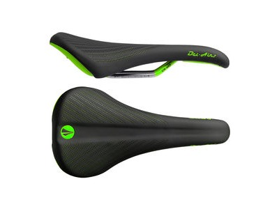 SDG Bel Air 2.0 Cro-Mo Rail Saddle Black/Green