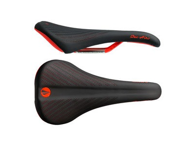 SDG Bel Air 2.0 Ti-Alloy Rail Saddle Black/Red