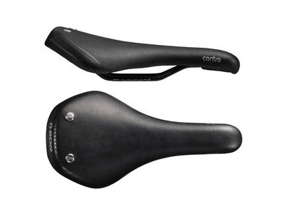 SDG Duster Street Steel Rail Saddle Black/Brass Rivets
